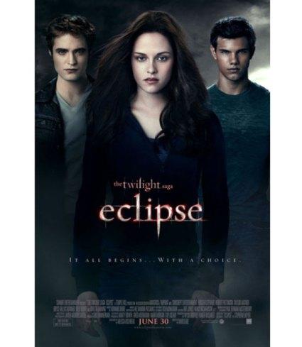 """Cartaz do filme """"Eclipse"""", da saga    """"Crepúsculo"""", é divulgado"""