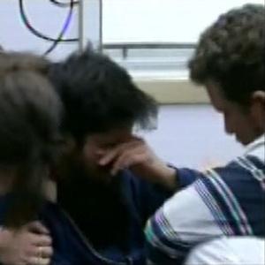 Participantes desabaram nas lágrimas