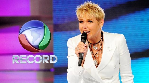 Xuxa, a mais nova contratada da Record
